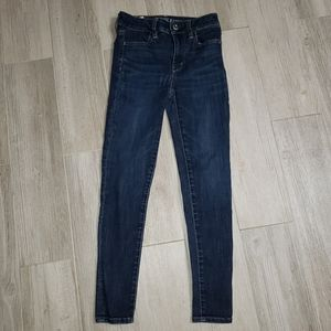 American eagle jeggings jeans super super stretc